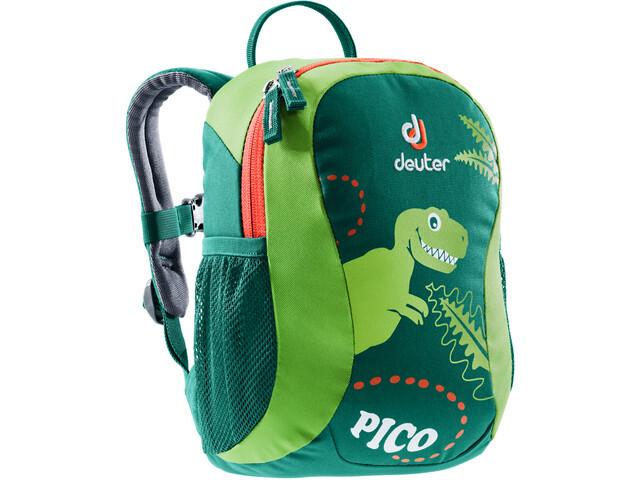 Deuter Pico Mochila Set, Largo Niños, alpinegreen/kiwi